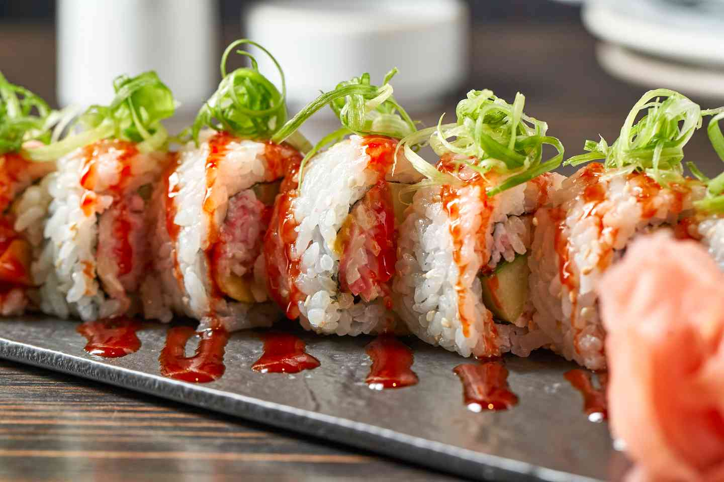 Crab and Mango Roll