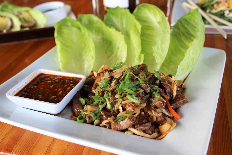 Korean Steak Lettuce Wraps