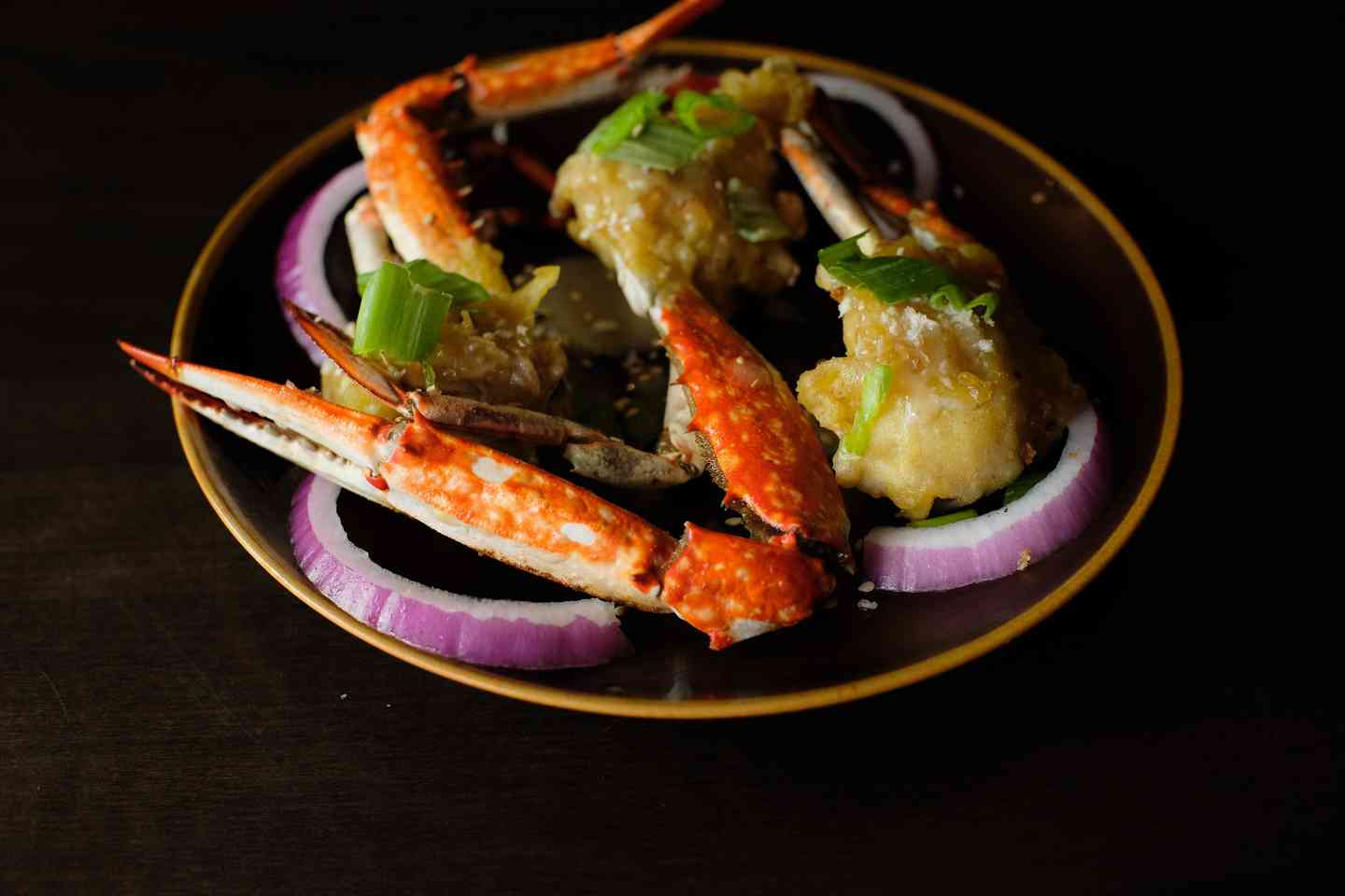 Fried Blue Crab in Sesame Sauce