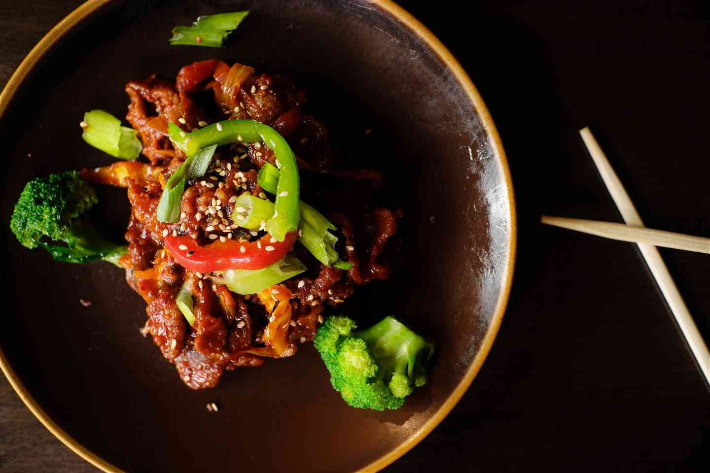 Pork Bulgogi with Vegetables