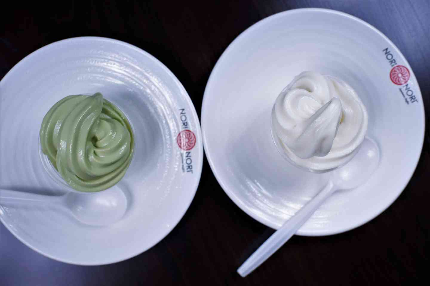 Ice-Cream: Green Tea (Matcha) & Vanilla