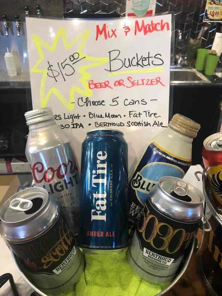 Mix & Match Beer Buckets