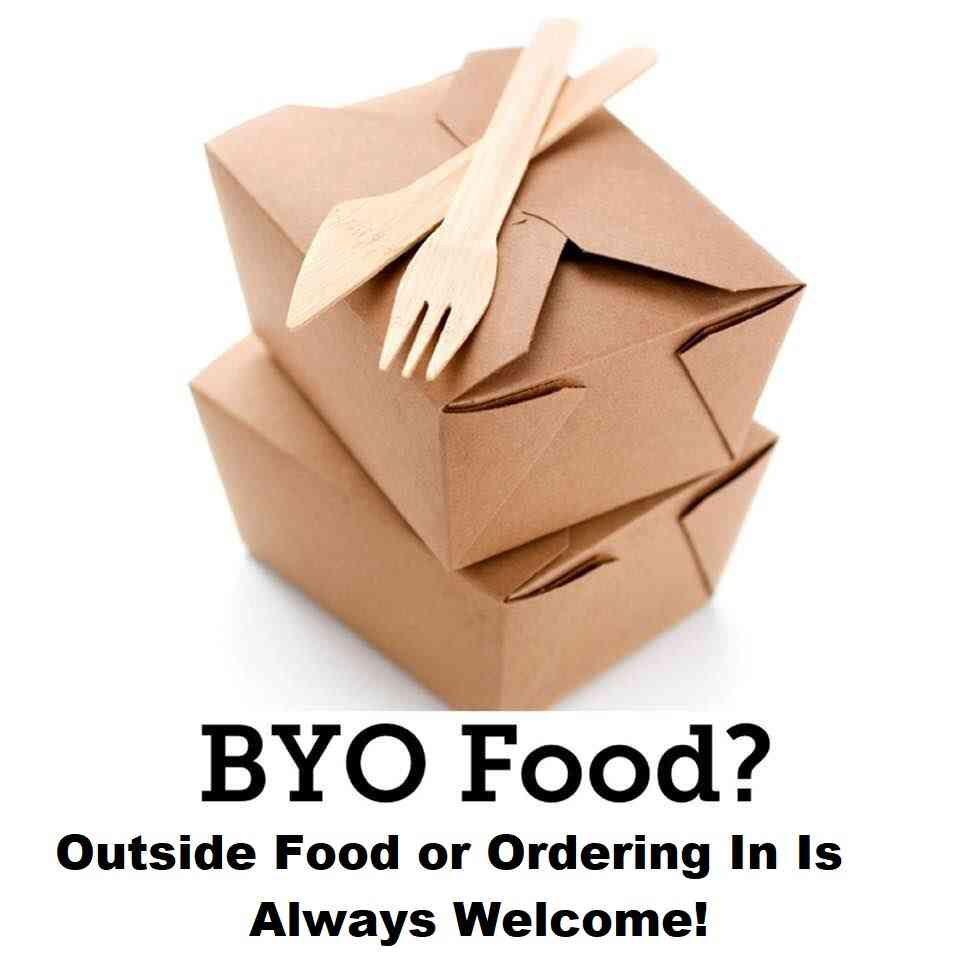 BYOF: Bring Your Own Food