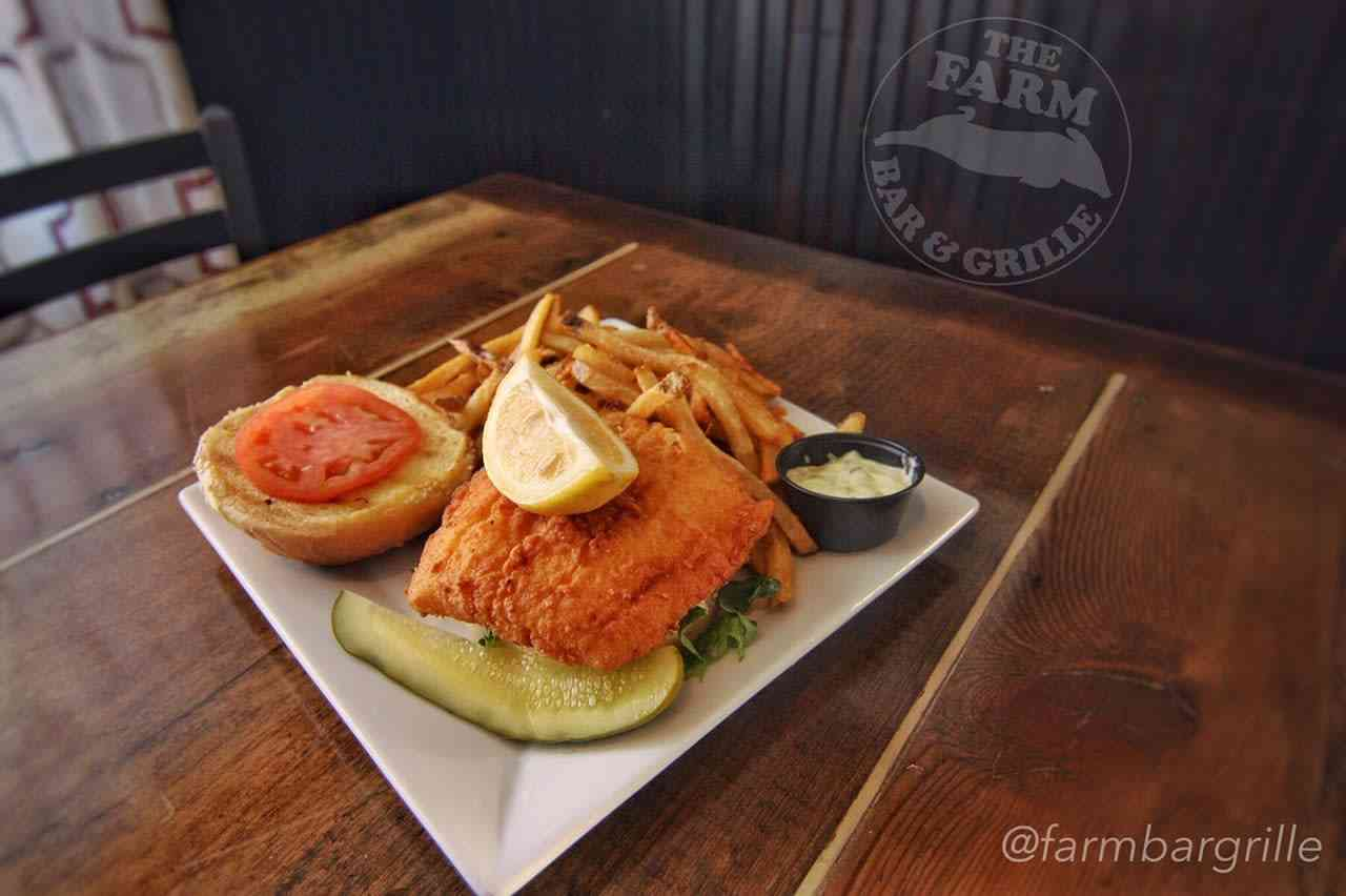 Haddock Sandwich