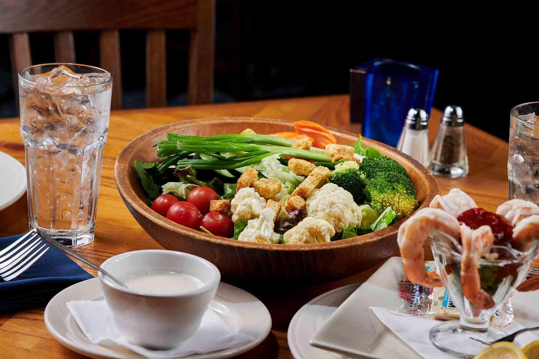Pelican's Bottomless Salad Bowl