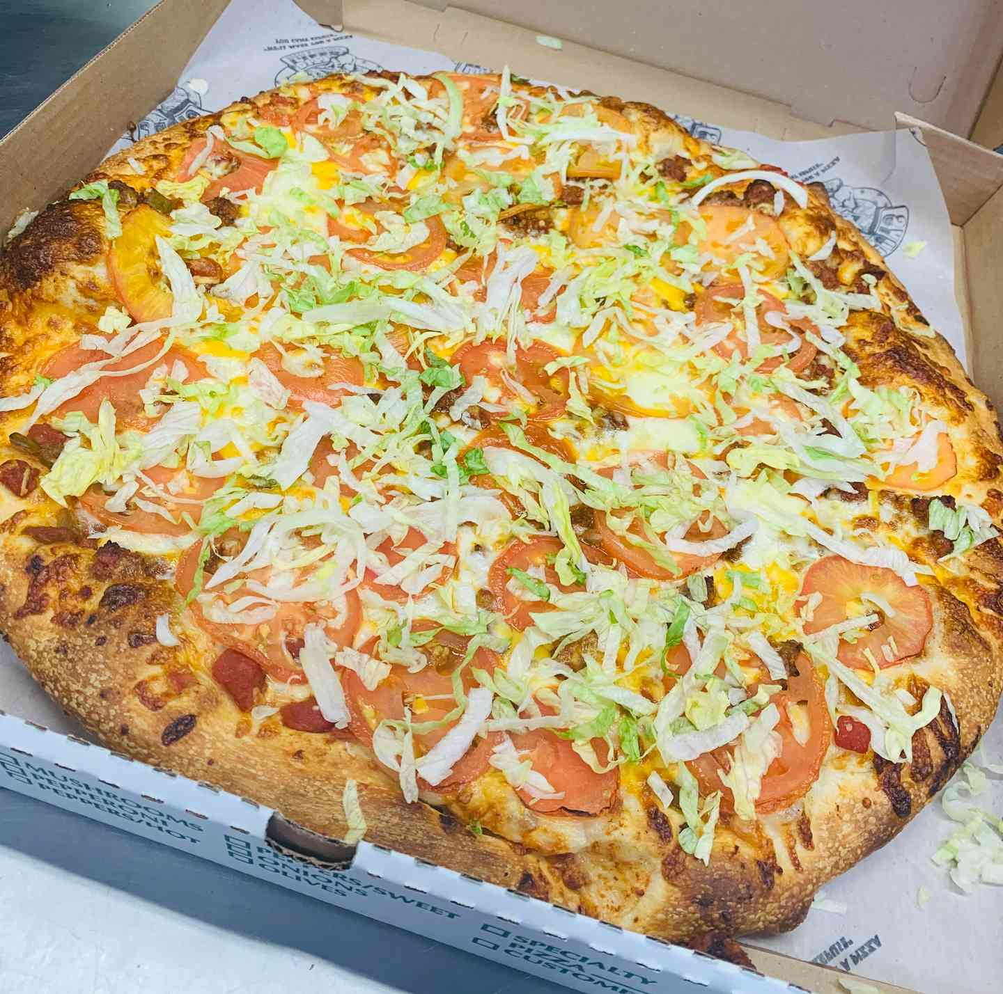 10 Large Specialty Pizzas