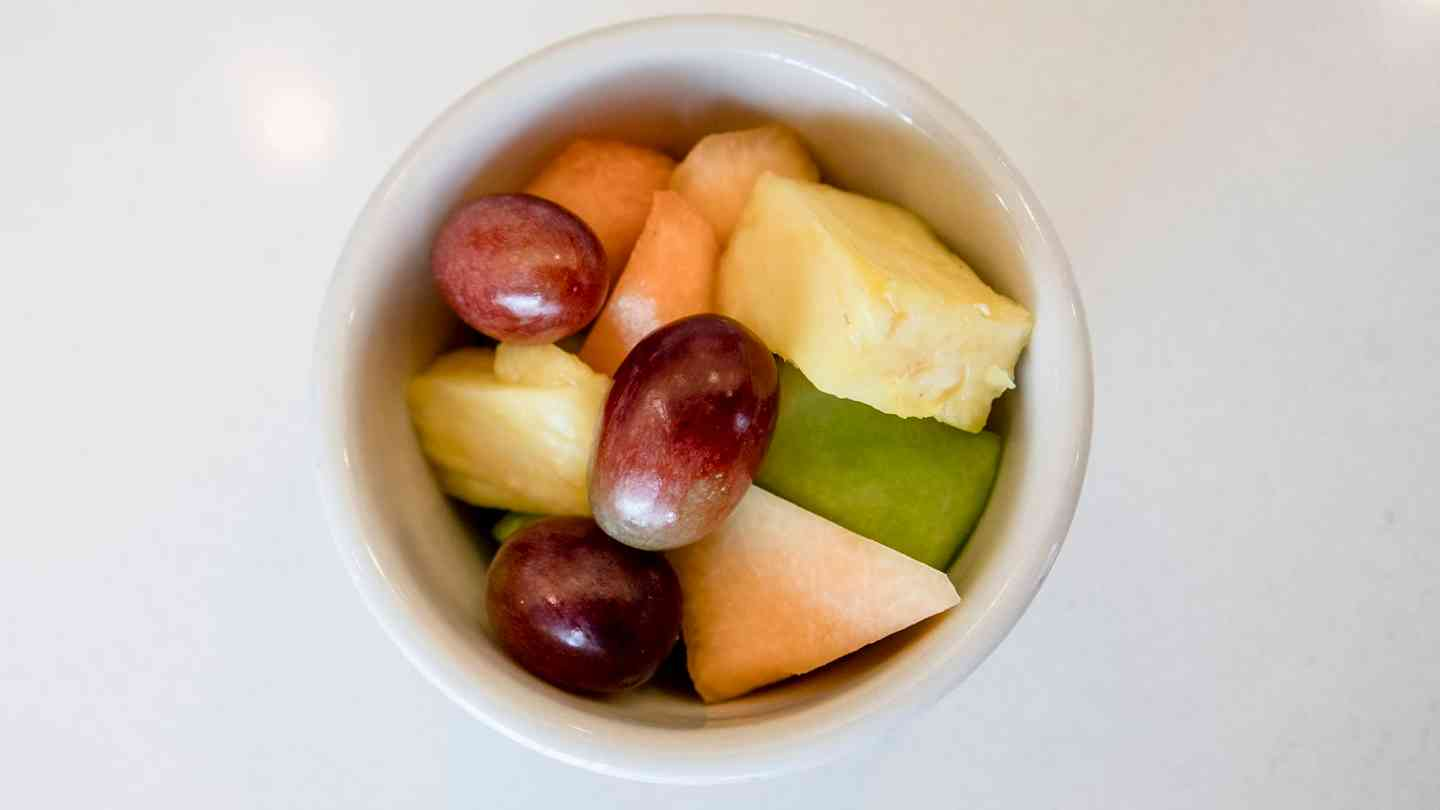 Small Bowl of Fresh Fruit