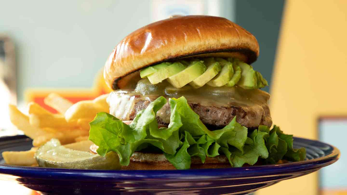 California Avocado Cheeseburger