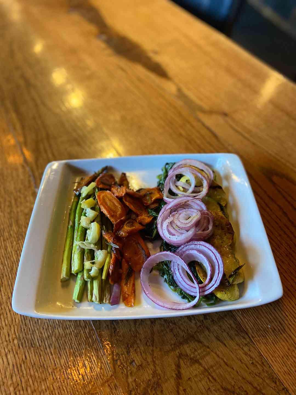 Roasted Fall Vegetable Plate