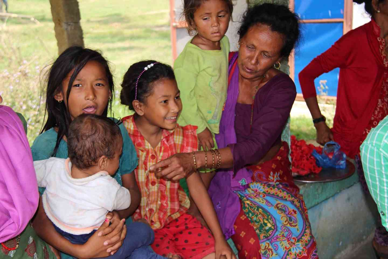 People In Nepal