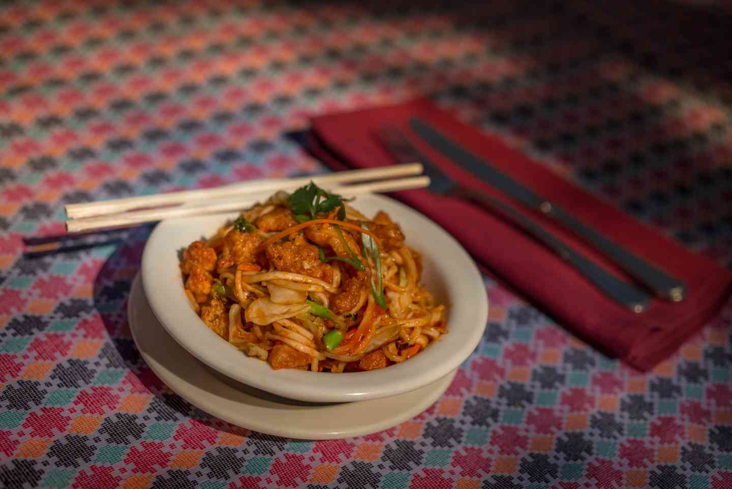 Chow Mein (Nepali Style Noodles)
