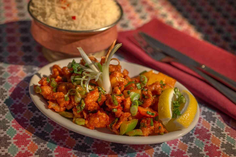Kathmandu Chili Chicken