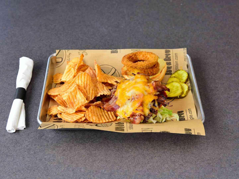 BBQ Smokehouse Brisket Burger