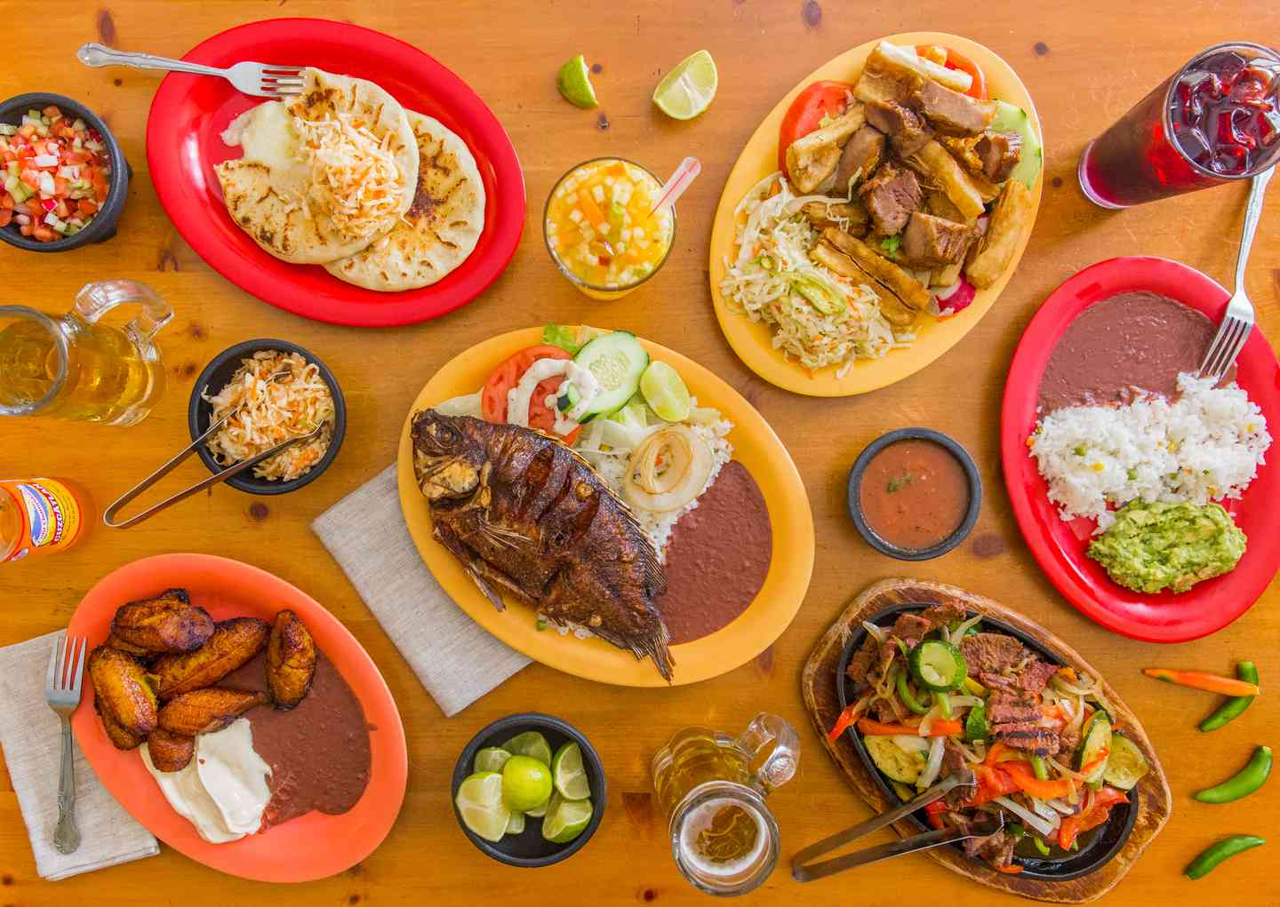Las Cazuelas dishes