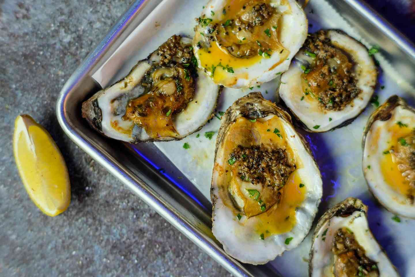 Signature Chargrilled Oysters