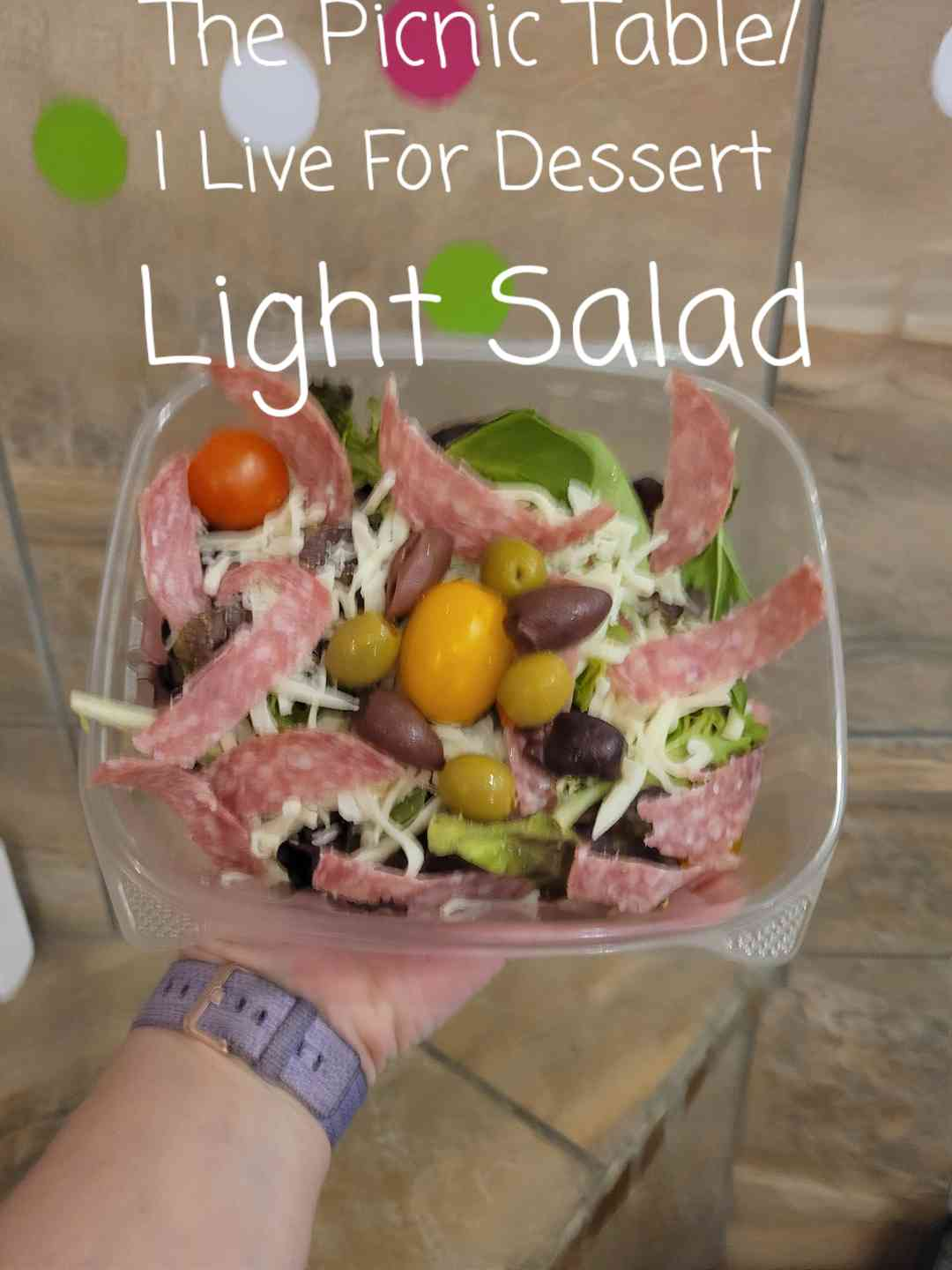 Light Salad/ These Vary Daily