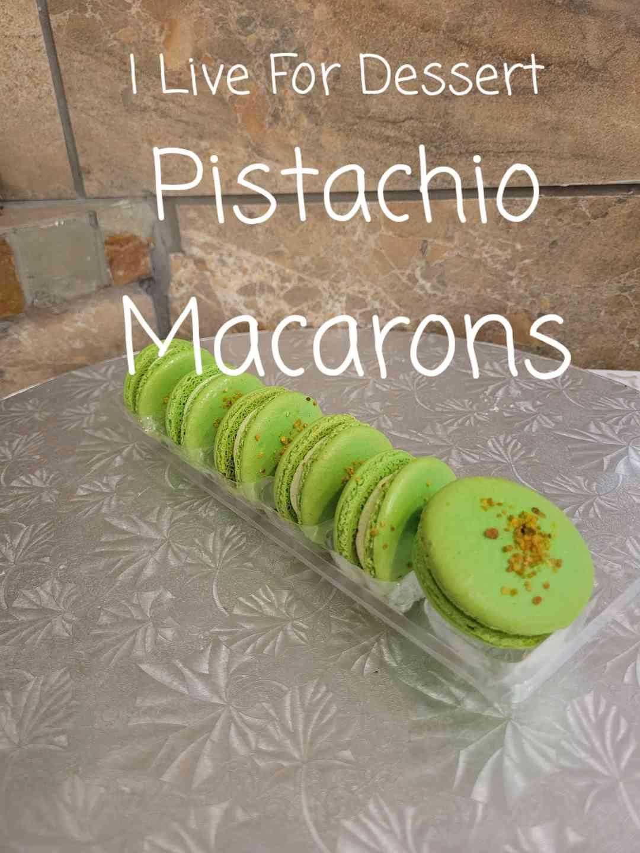 Pistachio Macaron 3 Count Todays Batches