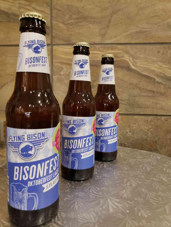Flying Bison Bisonfest Lager