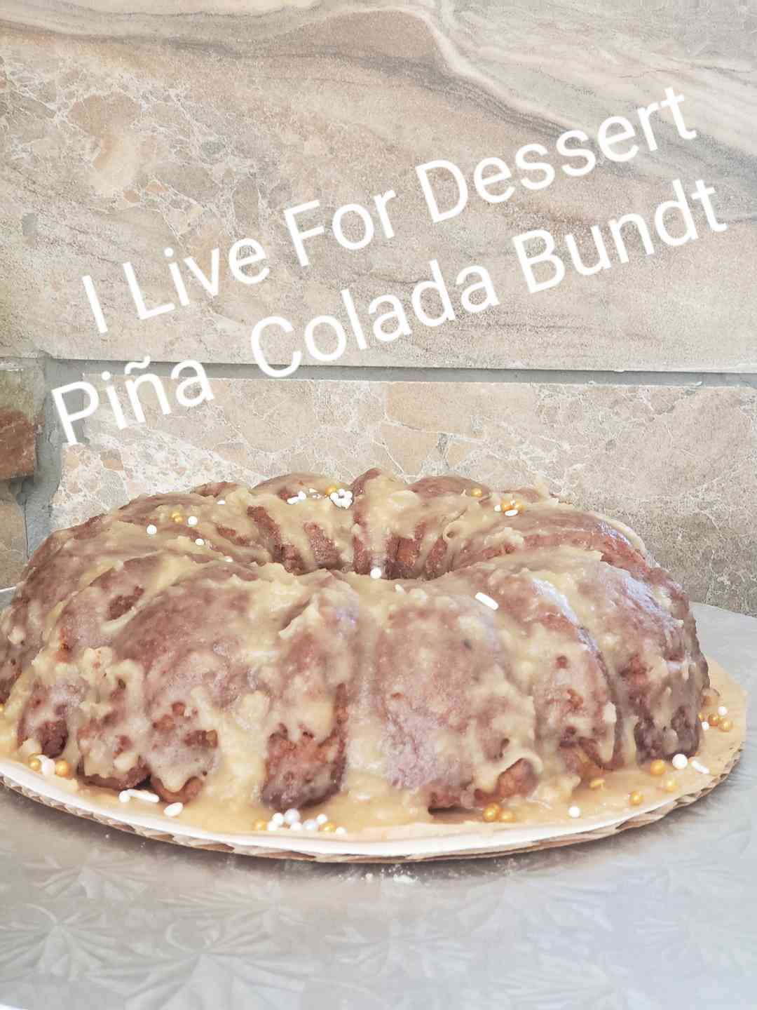 Pina Colada Bundt 3 Day Notice
