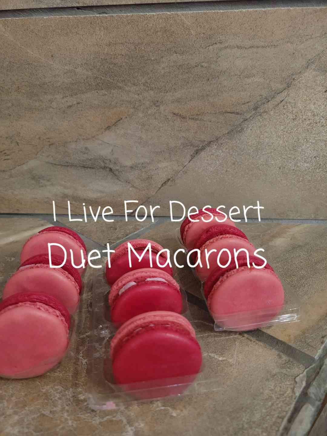 Duet Macarons 3 Count DF/ GF 3 Day Notice