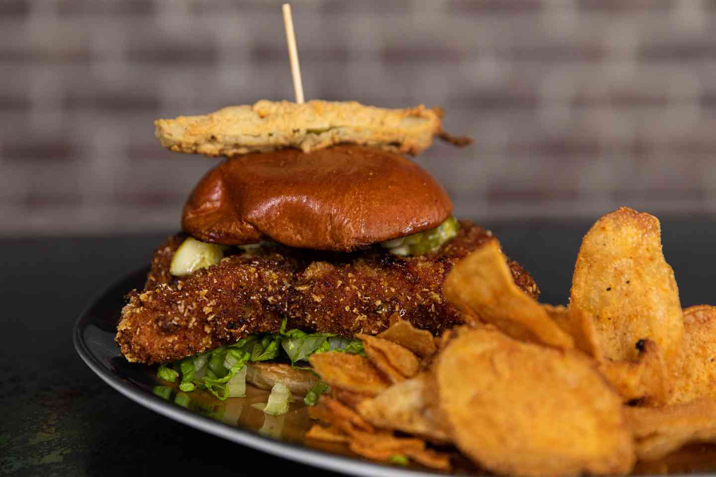 Hot 'n' Spicy Fried Chicken Sandwich