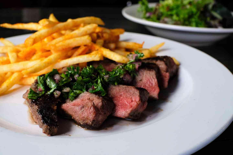 *Steak & Fries