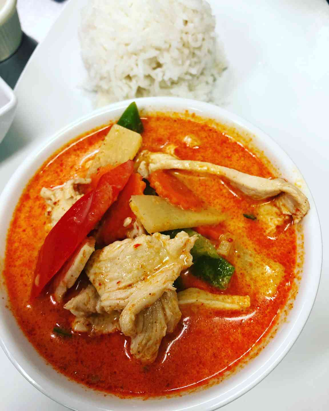 L Red Curry