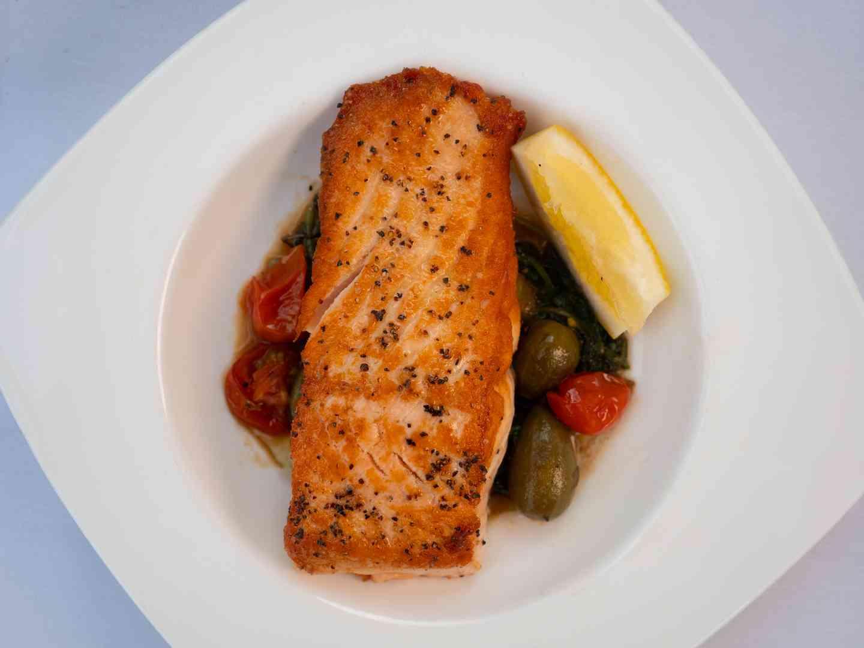 Salmon Piccata