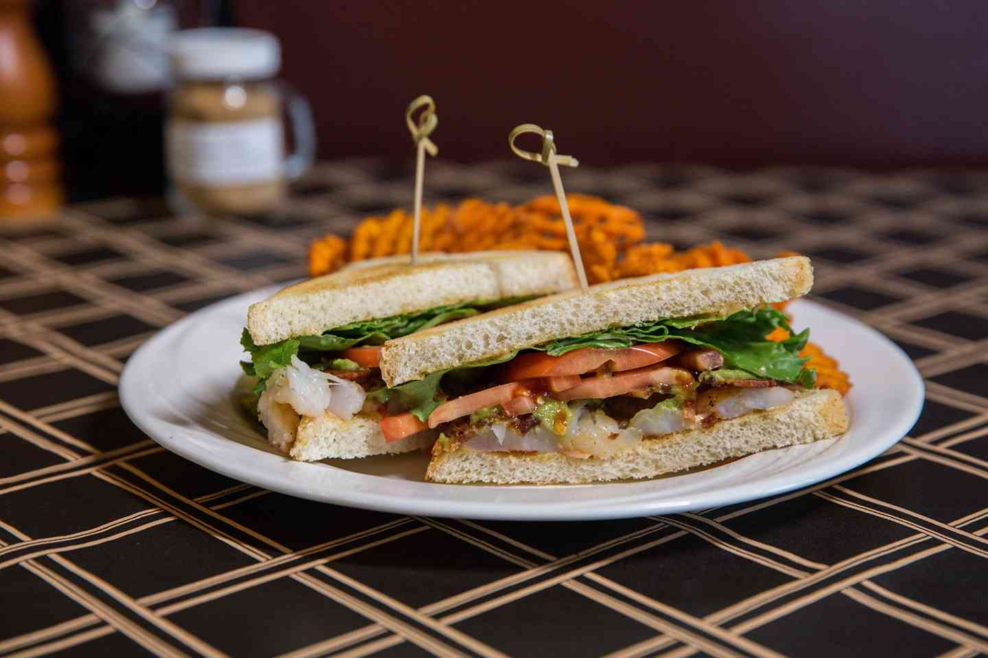 Grilled Shrimp BLT