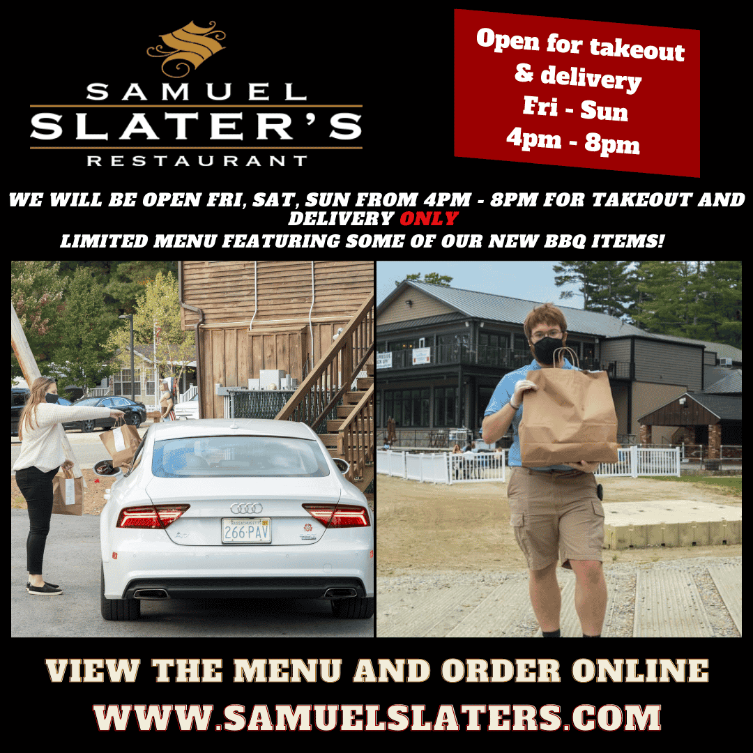 Reopening for takeout and delivery