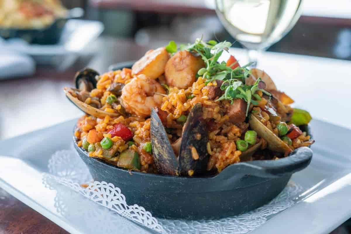 Valencian Seafood Paella
