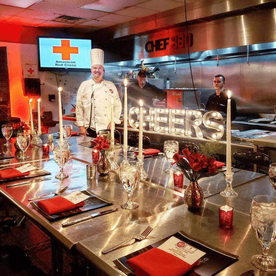Kitchen Red Cross