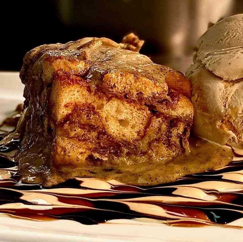 Chef's Selection - House-Made Bread Pudding