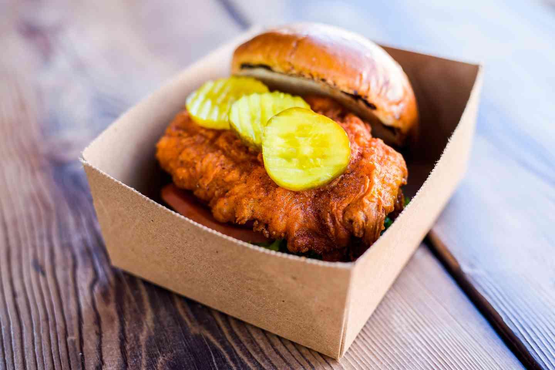The Hott Chick Sandwich