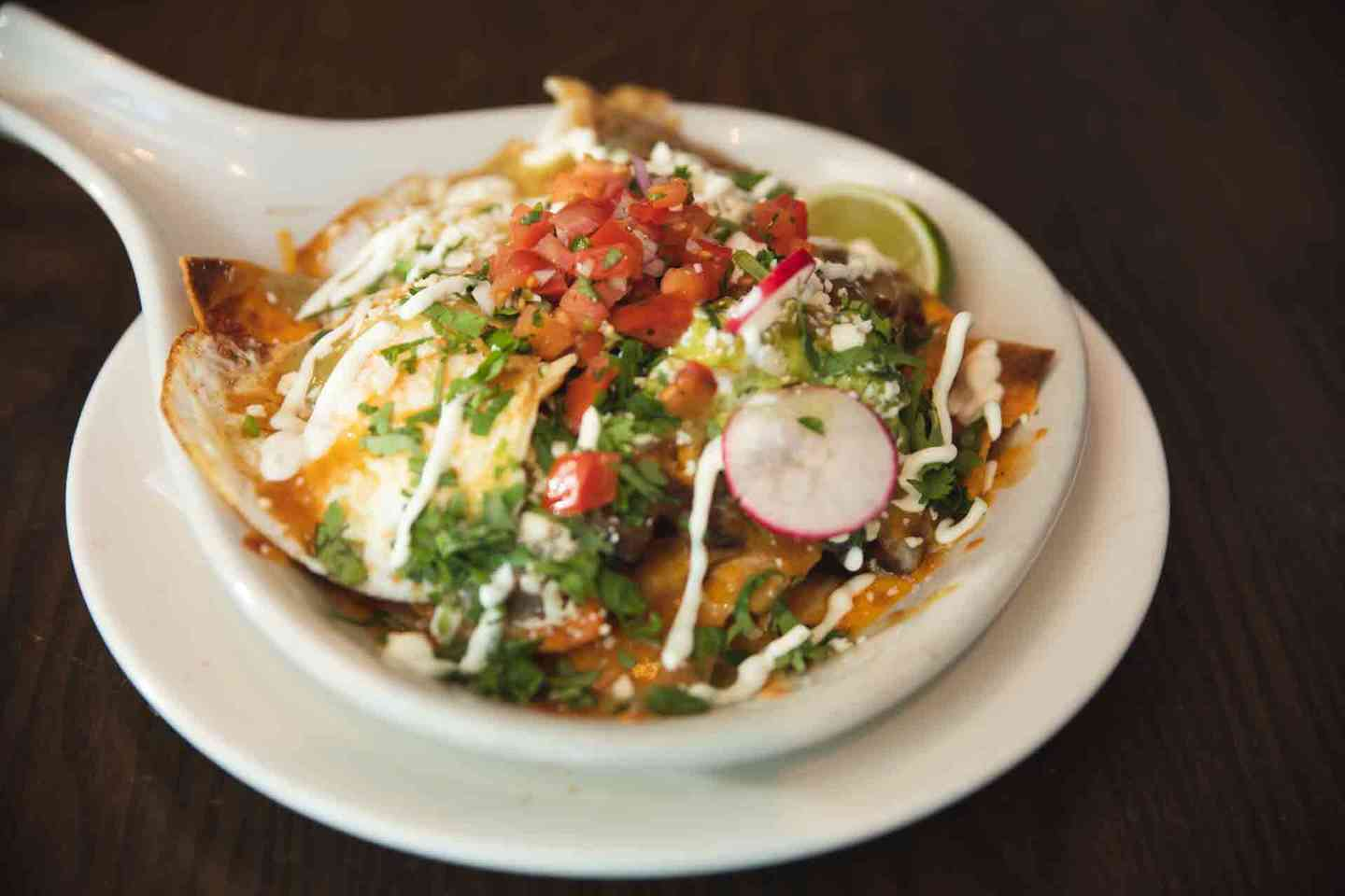Chilaquiles (aka Breakfast Nachos)