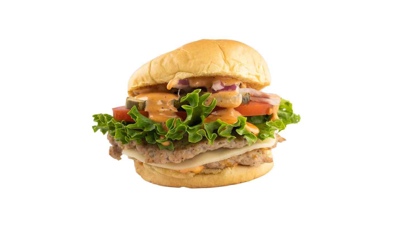 8. Original Double Pork Burger