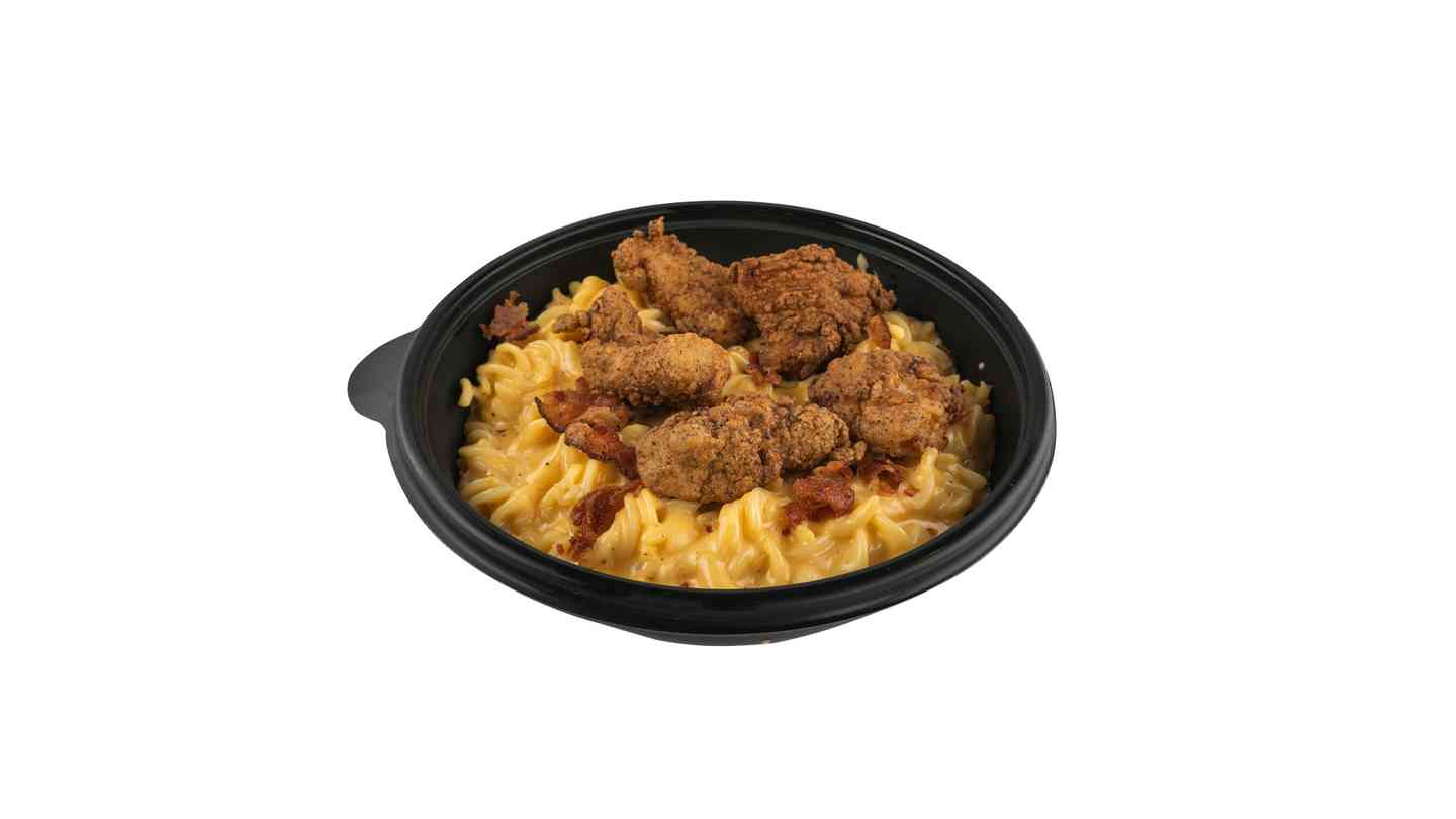 Mac and Cheese Chicken Bowl
