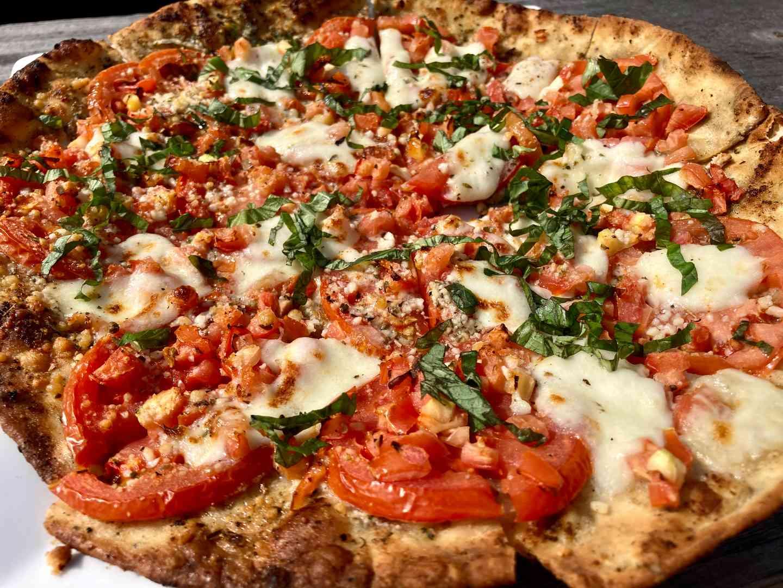 Fresh Tomato & Mozzarella Flatbread