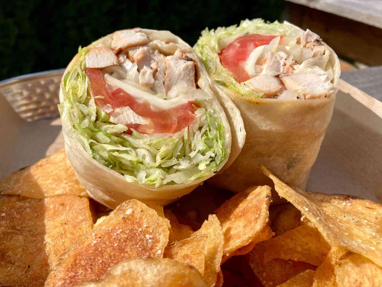 Grilled Chicken Wrap