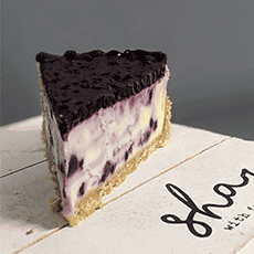 Cavallo Signature Blueberry Cheesecake