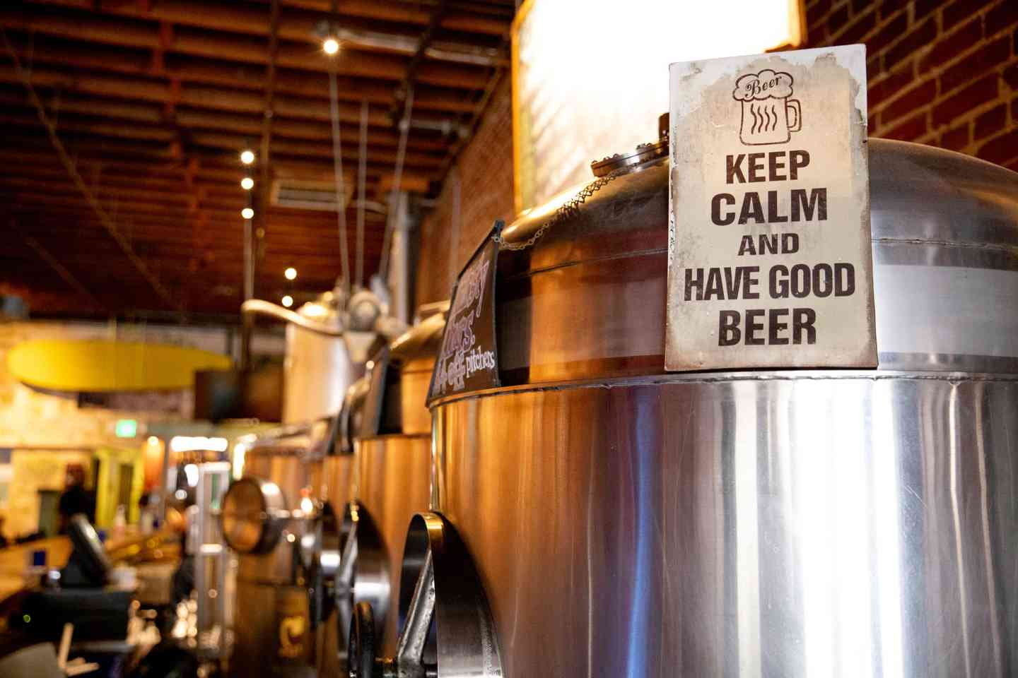 keep calm and have a good beer