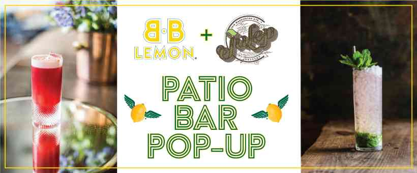 Patio Bar Pop-up w/ Julep + Live Music