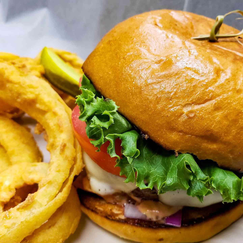 Sue's burger