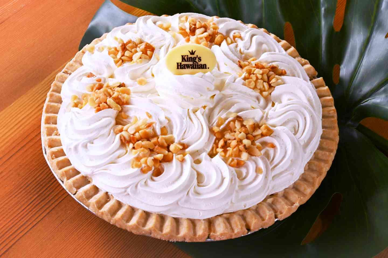 Macadamia Nut Cream Pie