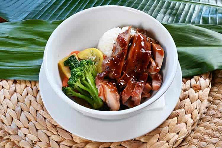Chicken Vegetable Bowl