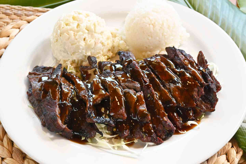 Teriyaki Beef Plate