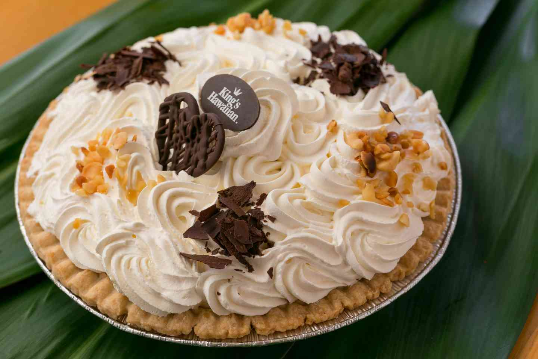Chocolate Banana Supreme Pie