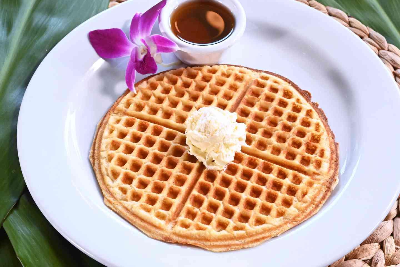 Golden Brown Waffle