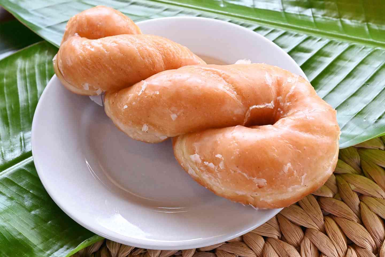 Glazed Twist Donut