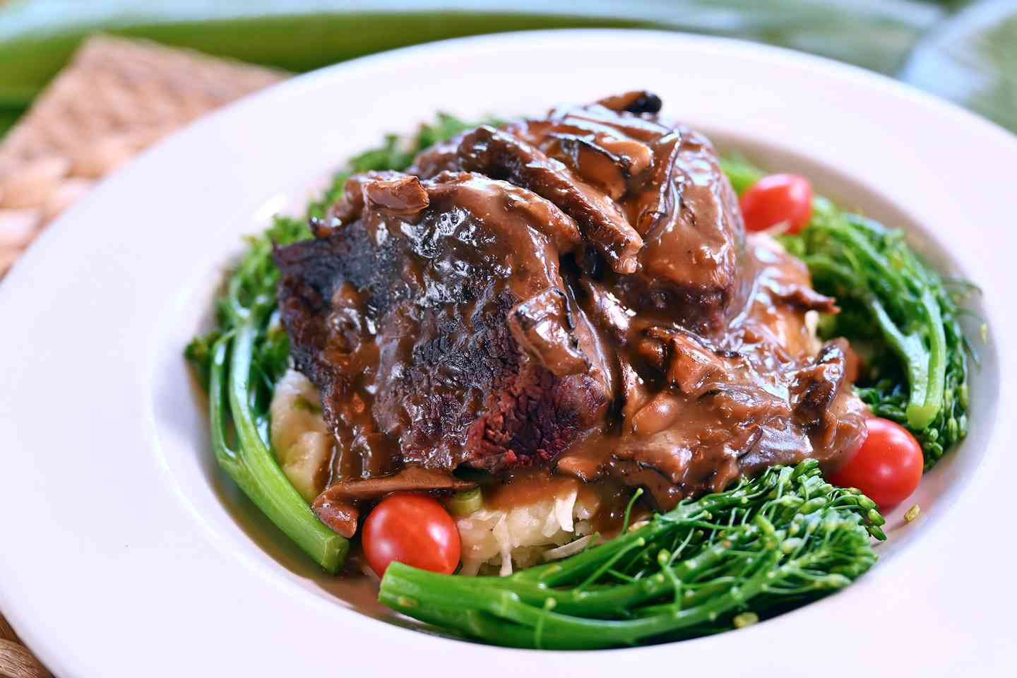 Braised Paniolo Beef Short Rib